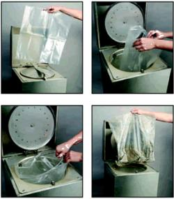 RB231 Solvent Recycling Liner Bags